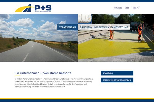 P+S  – mit neuer Website online