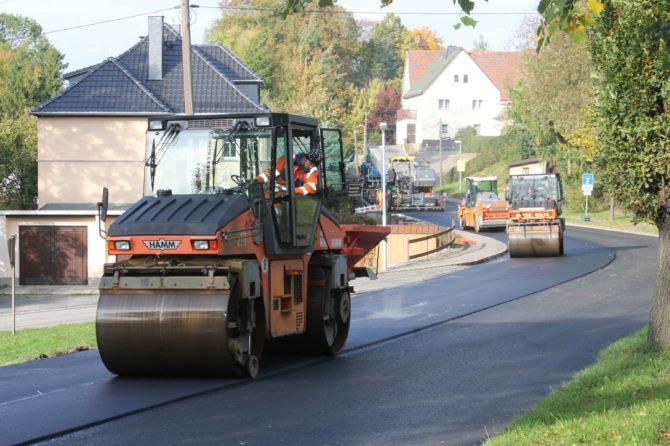 Baustelle S 159 Langenwolmsdorf