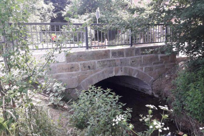 Instandsetzung Natursteinbogenbrücke in Barsinghausen